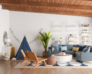 kid friendly living room design